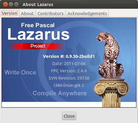 Lazarus on Ubuntu